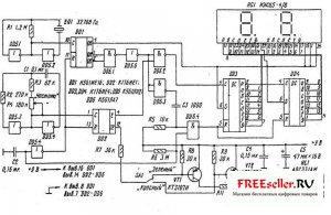 Схема электрическая медицинские приборы