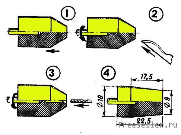 Цанговый патрон для мини дрели своими руками