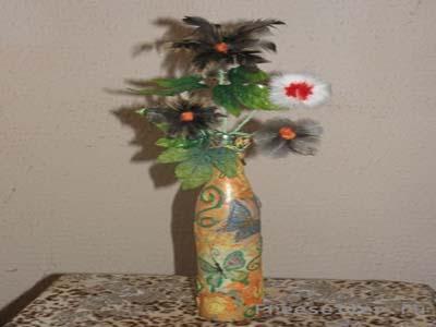 Цветы с перьями, купить букет из черных калл киев