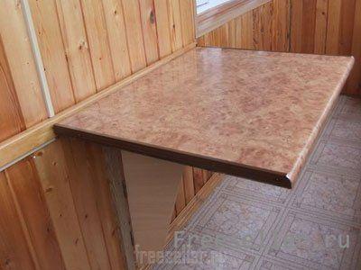 Откидной столик для балкона и лоджии своими руками.