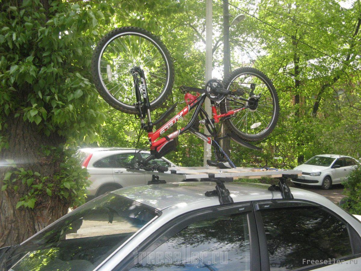 Крепление для перевозки на автомобиле Thule Xpress 970 на фаркоп для, 2-х велосипедов