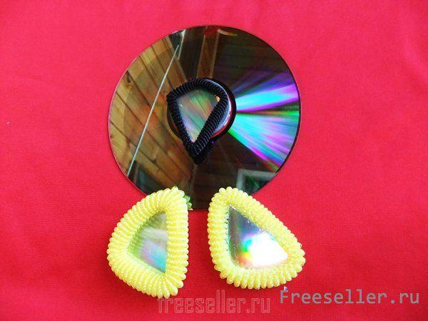 Сова из дисков своими руками