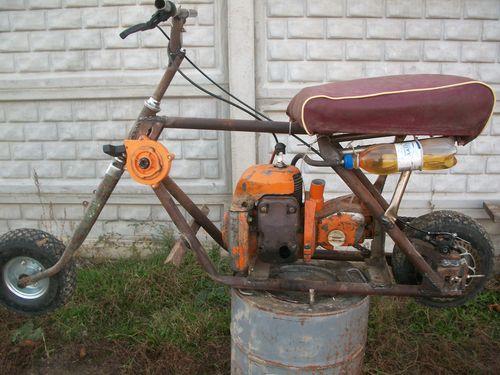 Мотоциклы своими руками - Полезные самоделки 44