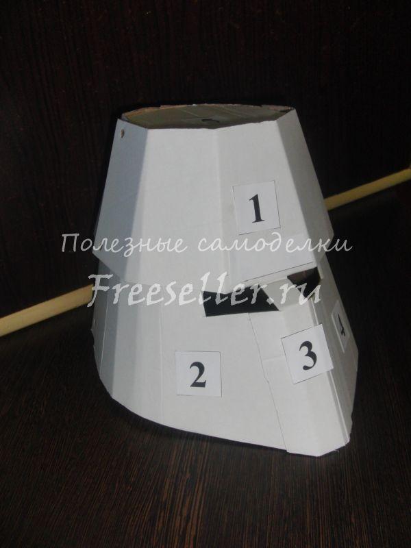Шлем крестоносца своими руками из картона