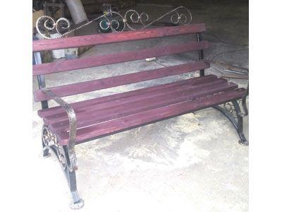 Деревянную мебель элементами ковки своими руками фото 379