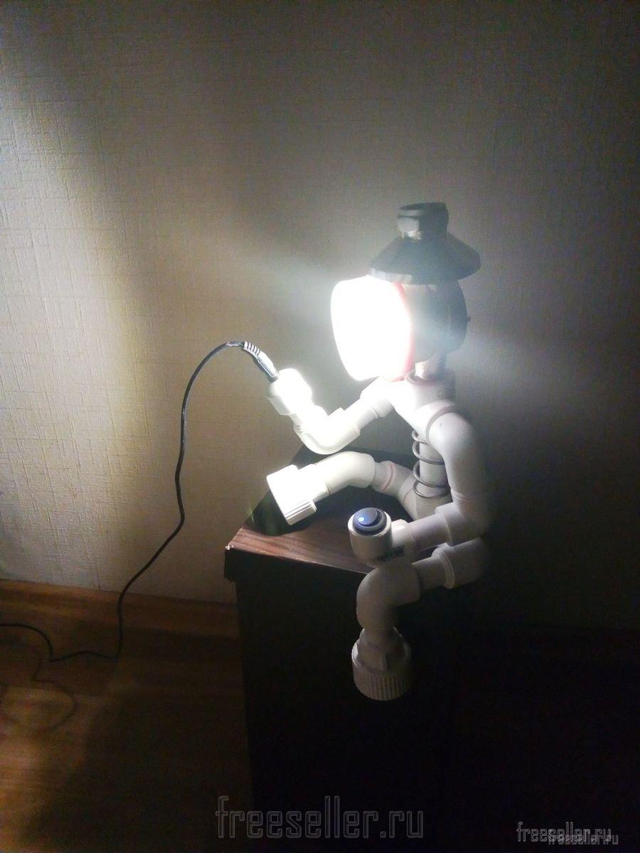 Светильники из полипропилена своими руками 71