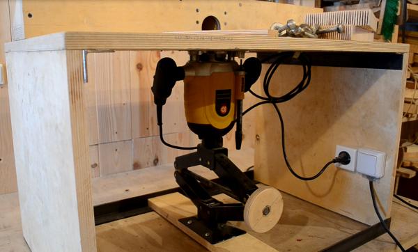 Как сделать стол для ручного фрезера фото 565