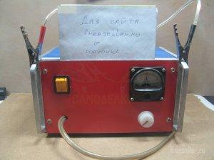 Доступное зарядное устройство на тиристоре
