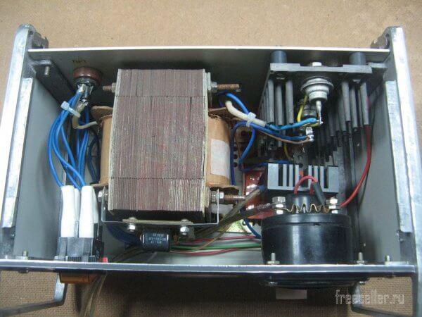 Как сделать доступное зарядное устройство на тиристоре