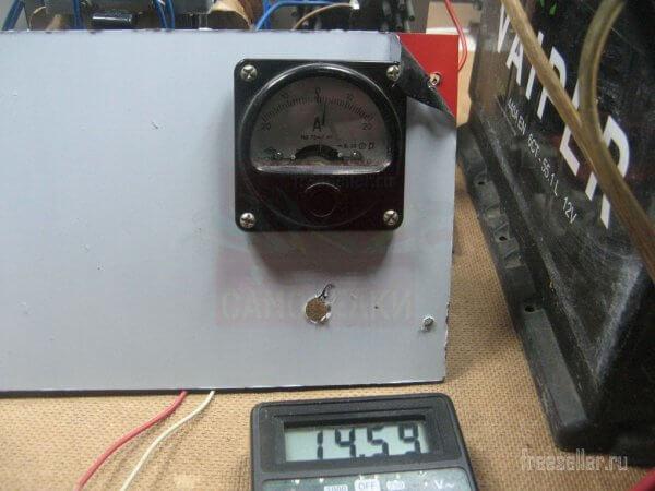 Сборка зарядного устройства