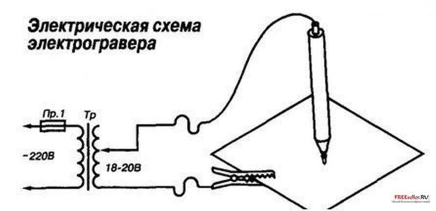 Электрокарандаш схема