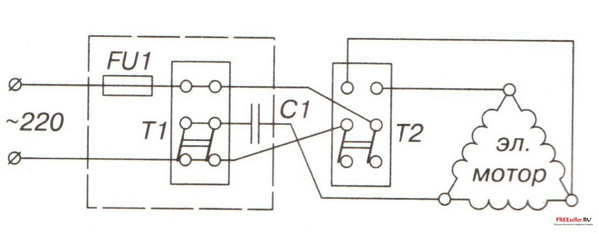Рис. 8 Электрическая схема