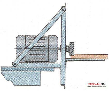 Простейший универсальный деревообрабатывающий станок