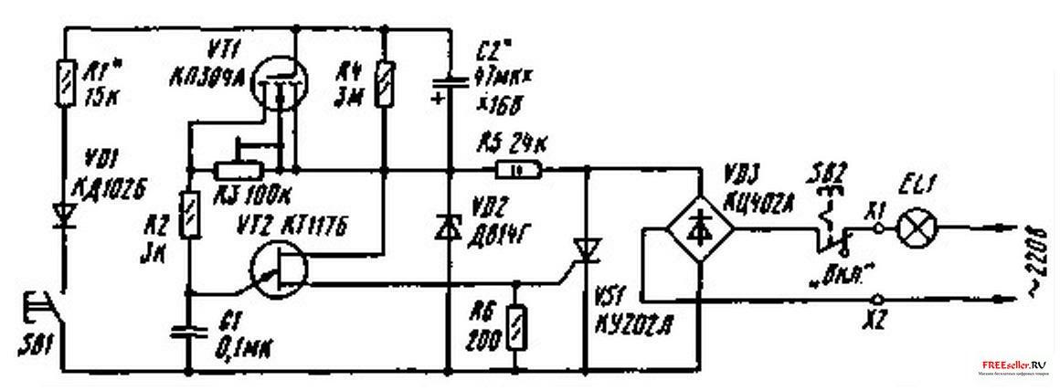 Автомат-эконом (рис.1), представляющий собой тринисторный регулятор мощности с фаэоимпульсным управлением...