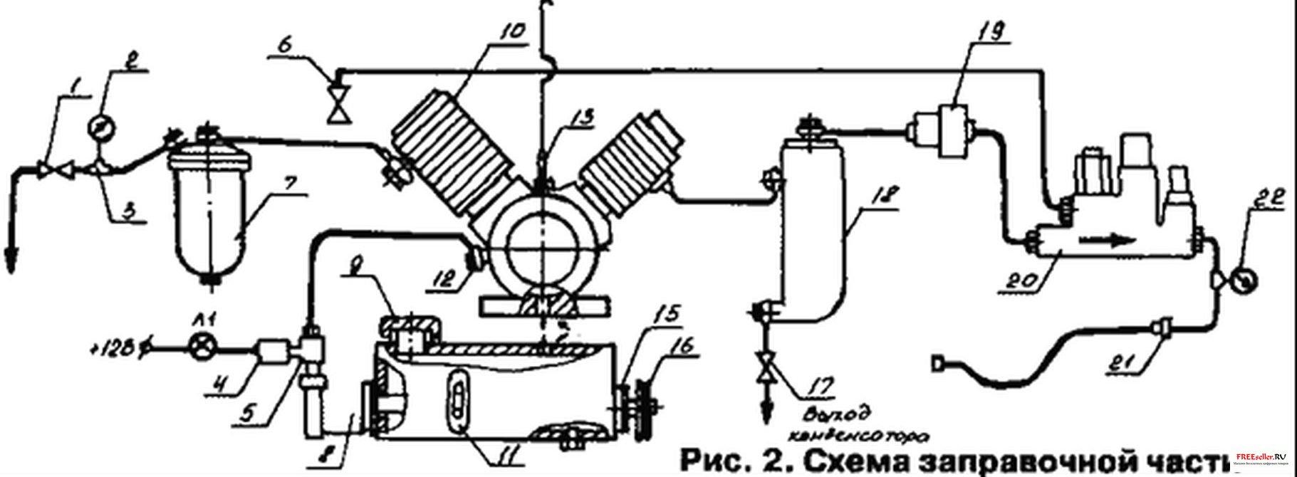 Схема компресора своими руками фото 400