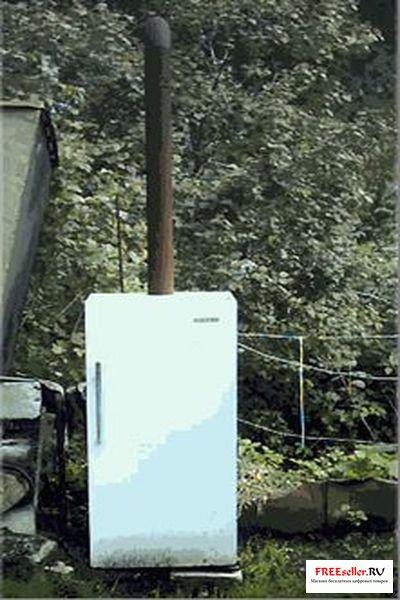 Как сделать коптильню из старого холодильника.
