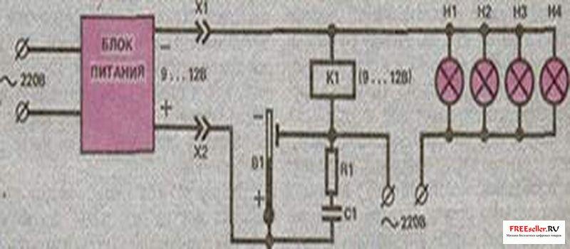 Рис. 3 Схема устройства