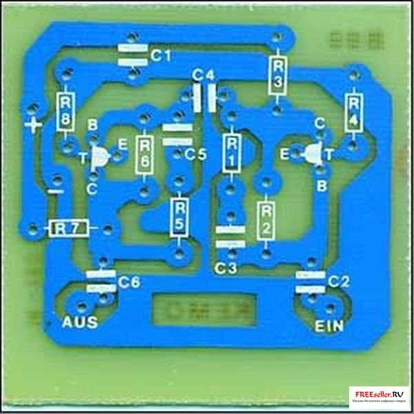 Антенный усилитель 30…850 МГц