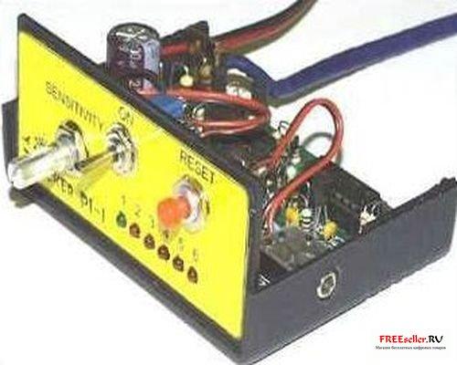 Металлодетекторы своими руками схемы