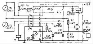 Расходомер топлива для автомобиля