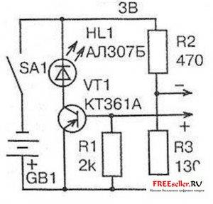 Схема прибора для поиска проводки фото 777