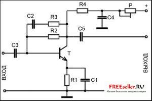 """Принципиальная схема подключения теплового аккумулятора  """"Теплобак """" ВТА-1-Солар плюс."""