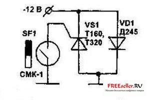 Электронное противоугонное устройство Блокиратор массы