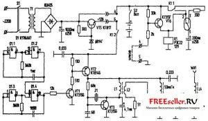 Схема Радиоохранного устройства для дома, гаража, автомобиля