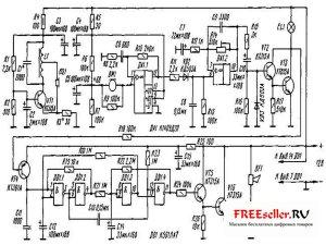 Ультразвуковое охранное устройство - схема
