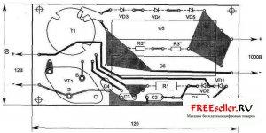 Электрозащитное устройство для металических дверей ЕЖИК