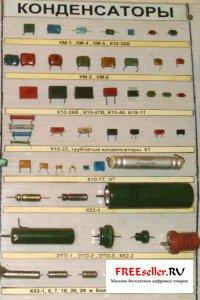 Фото радиодеталей. Кондесаторы из которых можно получить золото