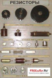 Фото радиодеталей. Резисторы из которых можно получить золото