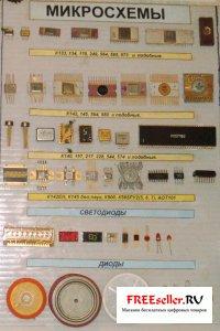 Фото радиодеталей. Транзисторы и микросхемы из которых можно получить золото
