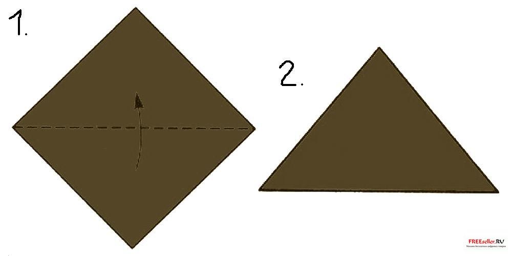 Вот здесь, например, понятно нарисовано, как сделать из модулей вазу: для этого понадобится прямоугольный лист бумаги...