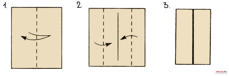 Как сделать дверь из бумаги
