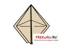 Как сделать базовую форму оригами: лягушку