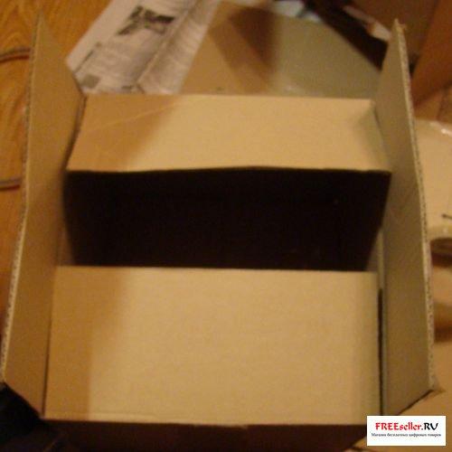 Как сделать ручку на коробке