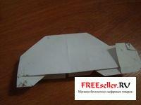 Как сделать машинку из бумаги