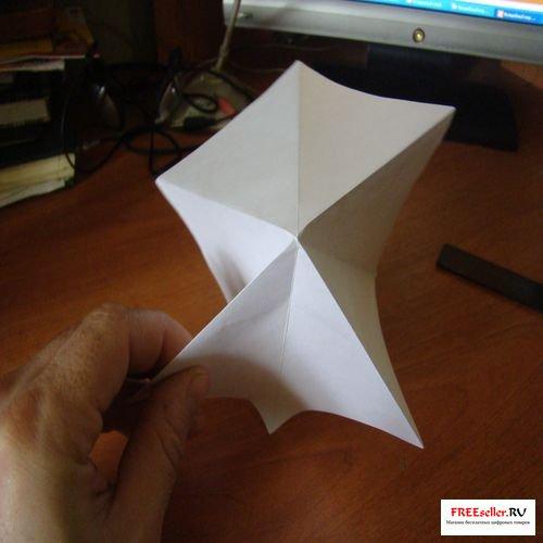Как сделать снежинки из бумаги а4 своими