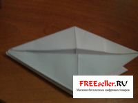 Как сделать птицу из бумаги