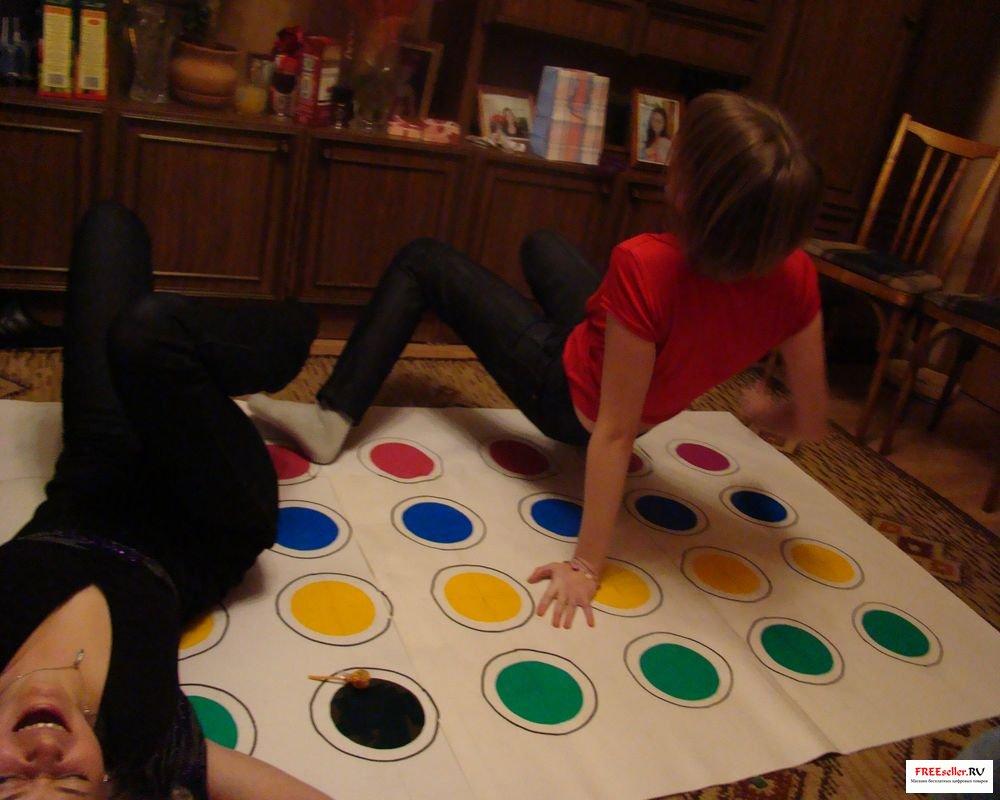 Как сделать игру твистер в домашних условиях своими руками