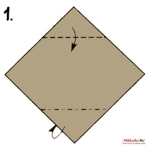 Как сделать динозаврика оригами