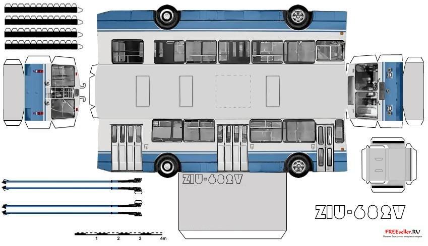 Бумажные Модели Зиу 682