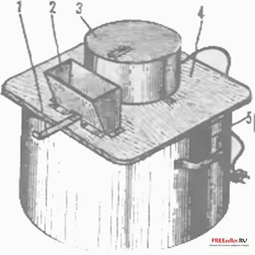 Самодельная дробилка для зерна