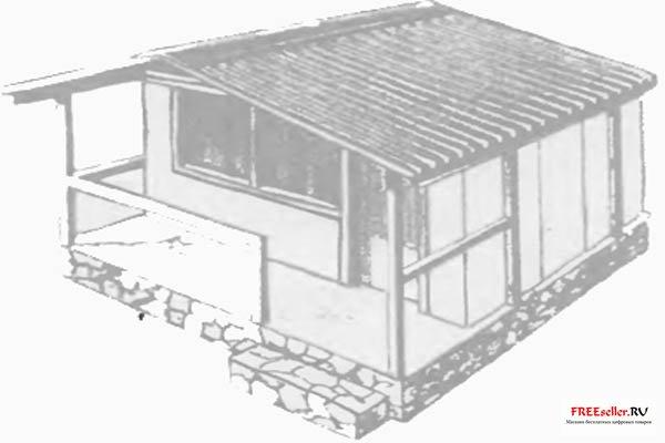 Как построить дом бунгало