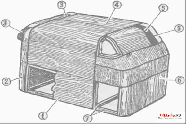 Самодельный прицеп дача