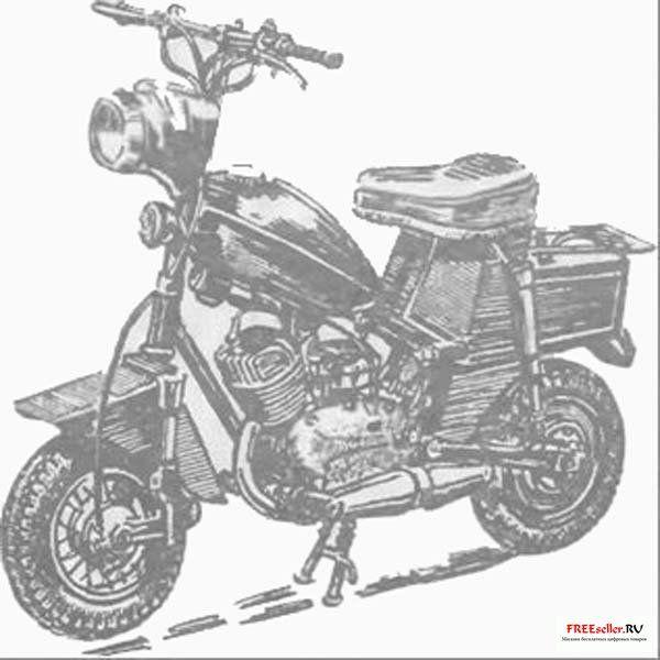 Как сделать самодельный мини мотоцикл
