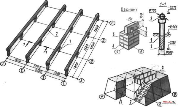 Как построить двухэтажный дачный дом