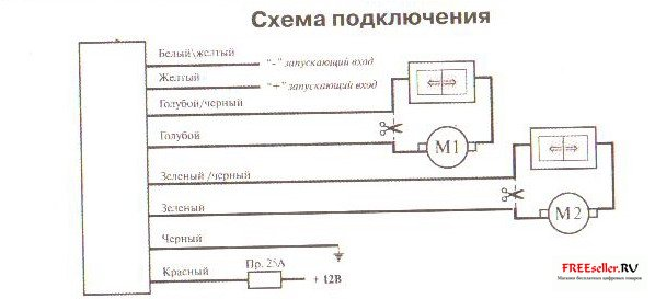 Рис.6 Схема подключения