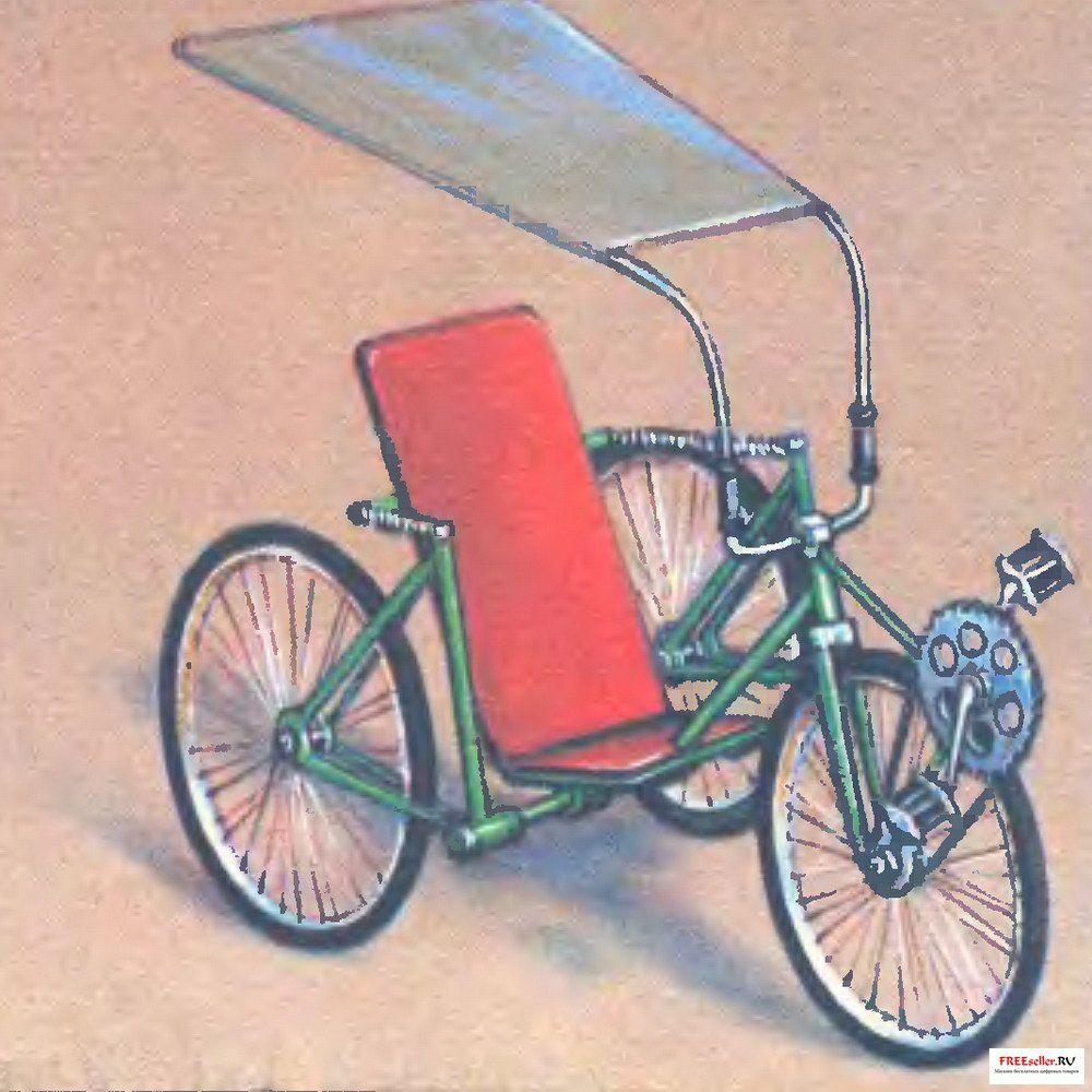 Веломобиль своими руками колеса